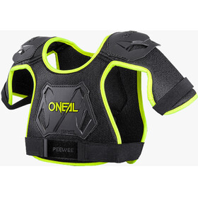 ONeal Peewee Chest Guard neon yellow